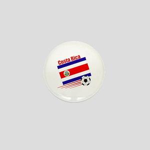 Costa Rica Soccer Team Mini Button (100 pack)