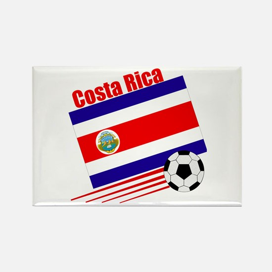 Costa Rica Soccer Team Rectangle Magnet