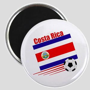 "Costa Rica Soccer Team 2.25"" Magnet (10 pack)"