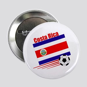 "Costa Rica Soccer Team 2.25"" Button (10 pack)"