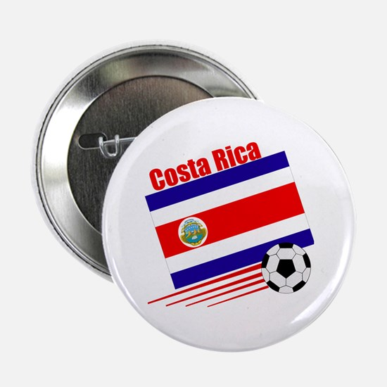 "Costa Rica Soccer Team 2.25"" Button (10 pack)"