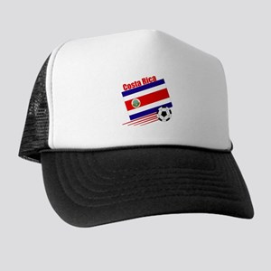 Costa Rica Soccer Team Trucker Hat