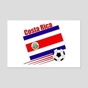 Costa Rica Soccer Team Mini Poster Print
