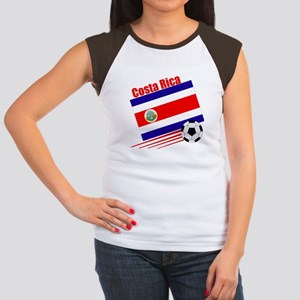 Costa Rica Soccer Team Women's Cap Sleeve T-Shirt
