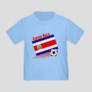 Costa Rica Soccer Team Toddler T-Shirt