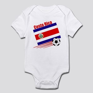 Costa Rica Soccer Team Infant Bodysuit