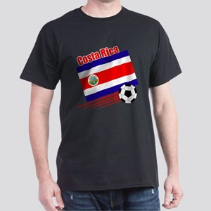 Costa Rica Soccer Team Dark T-Shirt