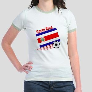 Costa Rica Soccer Team Jr. Ringer T-Shirt