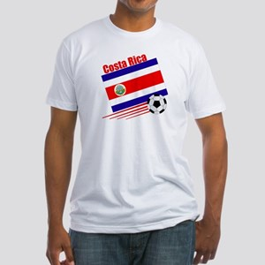 Costa Rica Soccer Team Fitted T-Shirt
