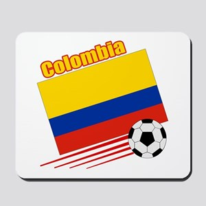 Colombia Soccer Team Mousepad