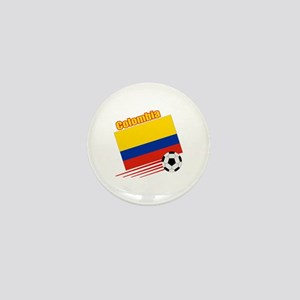 Colombia Soccer Team Mini Button (100 pack)