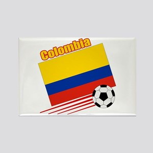 Colombia Soccer Team Rectangle Magnet