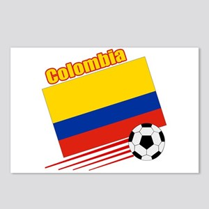 Colombia Soccer Team Postcards (Package of 8)
