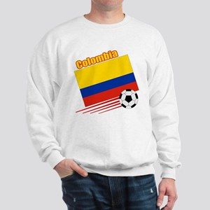 Colombia Soccer Team Sweatshirt