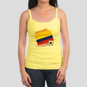 Colombia Soccer Team Jr. Spaghetti Tank