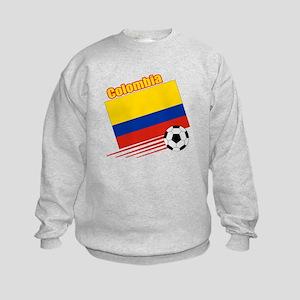 Colombia Soccer Team Kids Sweatshirt