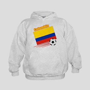 Colombia Soccer Team Kids Hoodie