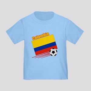 Colombia Soccer Team Toddler T-Shirt