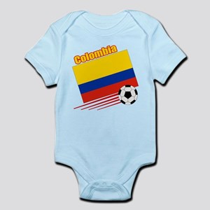 Colombia Soccer Team Infant Bodysuit