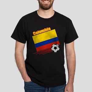 Colombia Soccer Team Dark T-Shirt