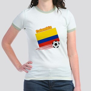 Colombia Soccer Team Jr. Ringer T-Shirt