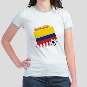 Colombia Soccer Team Jr. Ringer T-Shirt