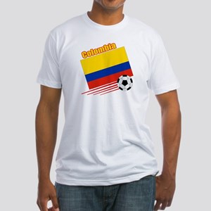 Colombia Soccer Team Fitted T-Shirt