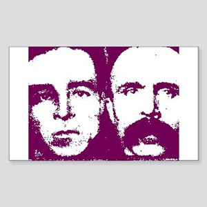 Sacco & Vanzetti Rectangle Sticker