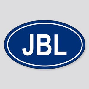 JBL Oval Sticker
