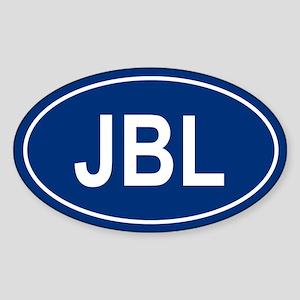JBL Oval Sticker