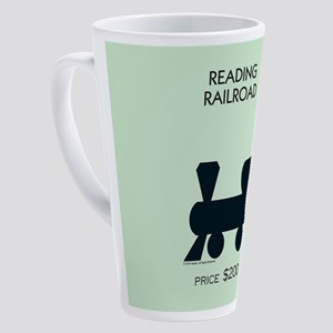 Monopoly - Reading Railroad 17 oz Latte Mug