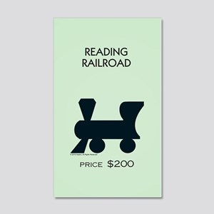 Monopoly - Reading Railroad 20x12 Wall Decal
