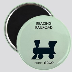 Monopoly - Reading Railroad Magnet