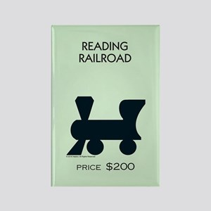 Monopoly - Reading Railroad Rectangle Magnet