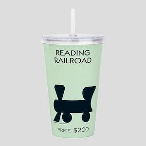 Monopoly - Reading Rai Acrylic Double-wall Tumbler