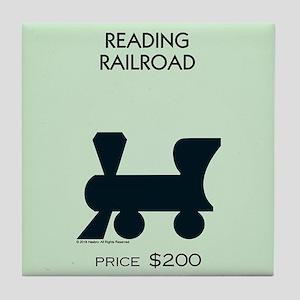 Monopoly - Reading Railroad Tile Coaster