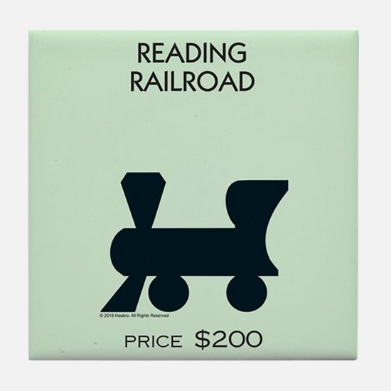 Monopoly - Reading Railroad Tile Coaster