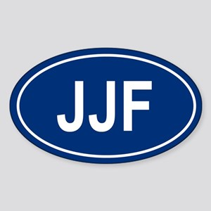 JJF Oval Sticker