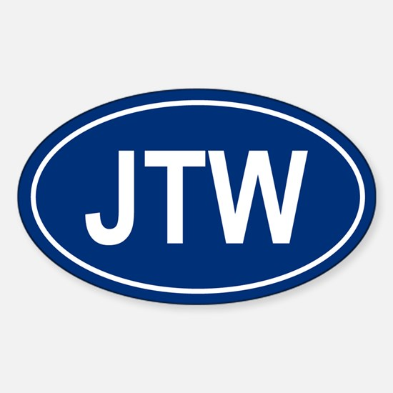JTW Oval Decal