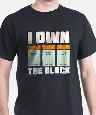 Monopoly - I Own The Block T-Shirt