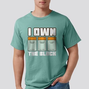 Monopoly - I Own The Blo Mens Comfort Colors Shirt