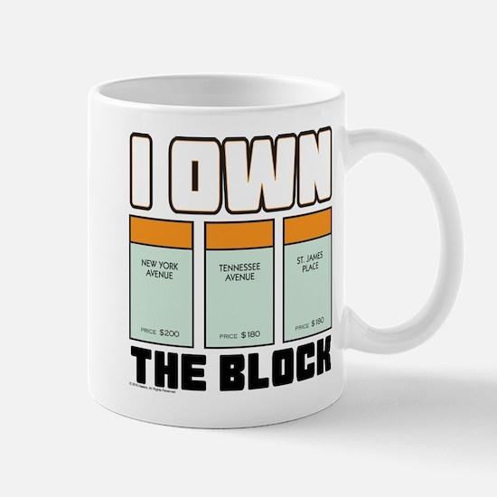 Monopoly - I Own The Block Small Mug