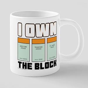 Monopoly - I Own The Block 20 oz Ceramic Mega Mug