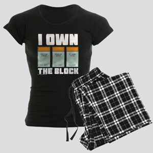 Monopoly - I Own The Block Women's Dark Pajamas
