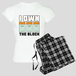Monopoly - I Own The Block Women's Light Pajamas