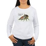 Oak Treehopper nymph Women's Long Sleeve T-Shirt