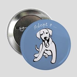 """Adopt a Labrador Retriever 2.25"""" Button"""