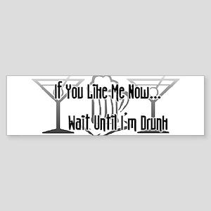 If You Like Me Now... Wait Un Bumper Sticker