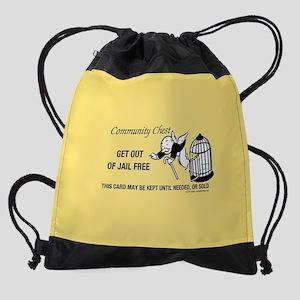 Monopoly - Get Out Of Jail Free Drawstring Bag