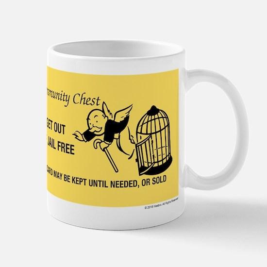 Monopoly - Get Out Of Jail Free Mug